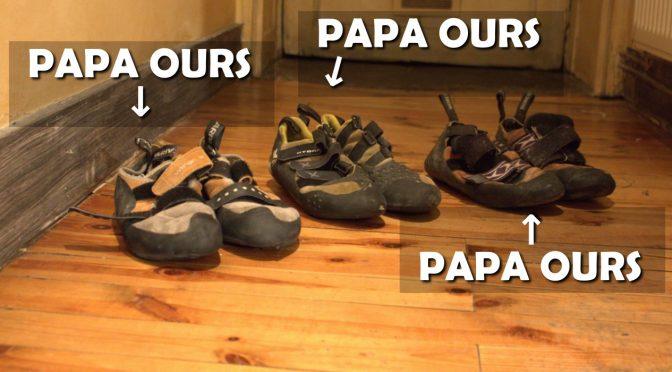 Envoi groupé de chaussons pour ressemelage